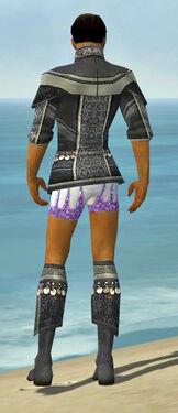 Elementalist Luxon Armor M gray chest feet back
