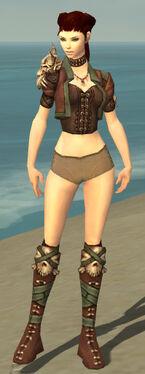 Ranger Krytan Armor F gray chest feet front