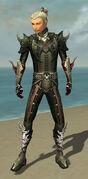 Assassin Deldrimor Armor M gray front