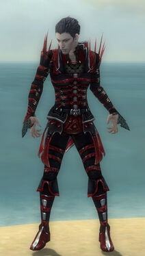 Necromancer Elite Cabal Armor M dyed front