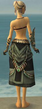 Ritualist Elite Luxon Armor F gray arms legs back