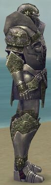Warrior Platemail Armor M gray side alternate