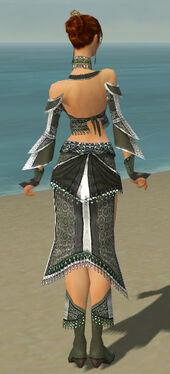 Elementalist Elite Luxon Armor F gray back