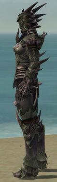 Warrior Primeval Armor F gray side