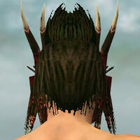 Dread Mask M dyed back