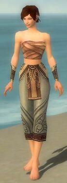 Monk Asuran Armor F gray arms legs front