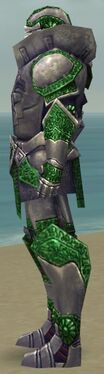 Warrior Platemail Armor M dyed side