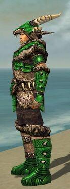 Warrior Elite Charr Hide Armor M dyed side alternate