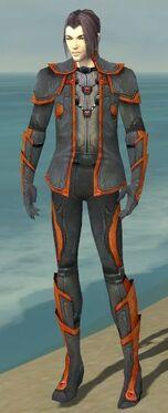 Elementalist Ascalon Armor M dyed front