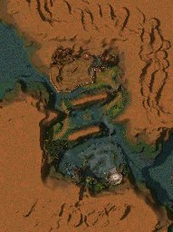 Druids Isle map
