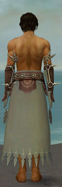 Dervish Sunspear Armor M gray arms legs back
