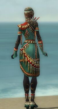 Ritualist Elite Canthan Armor F dyed back