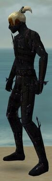 Assassin Obsidian Armor M dyed side