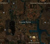 Xaquang Skyway map