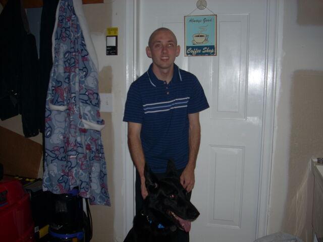 File:Me And My Dog Rex November 18th 2009 Pic 0003.JPG