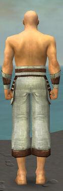 Monk Censor Armor M gray arms legs back