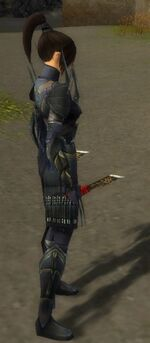 Zenmai Mysterious Armor F gray side