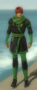 Mesmer Luxon Armor M dyed front