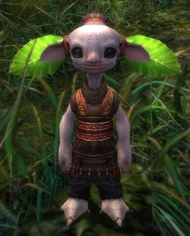 File:Oggy wearing Taro Leaves.jpg
