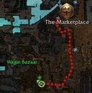 Captured Hanzing map