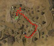 Zwack Ramble Map