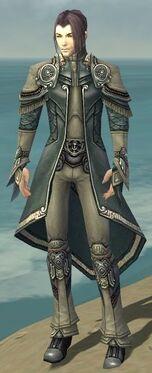 Elementalist Asuran Armor M gray front