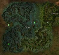 The Falls map