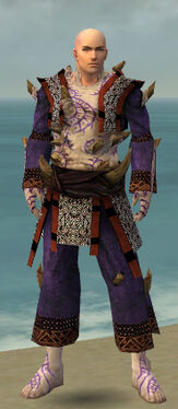 Monk Primeval Armor M dyed front