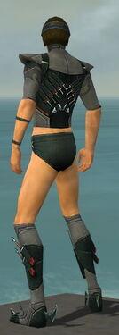 Assassin Seitung Armor M gray chest feet back