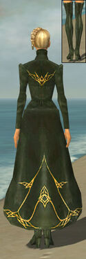 Mesmer Courtly Armor F gray chest feet back