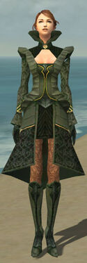 Mesmer Performer Armor F gray front