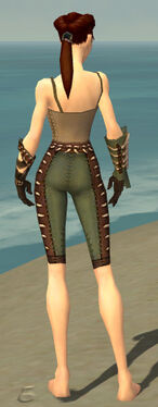Ranger Krytan Armor F gray arms legs back