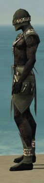 Ritualist Kurzick Armor M gray side