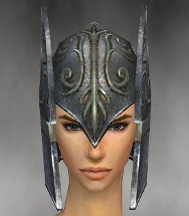 File:Warrior Elite Gladiator Armor F gray head front.jpg