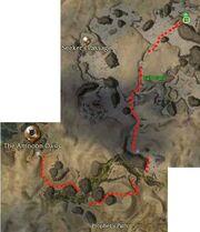Ancient Secrets quest map2