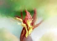 55440 - artist-explosivegent artist-noel fluttershy fluttertree leafing the dream nature Treant tree