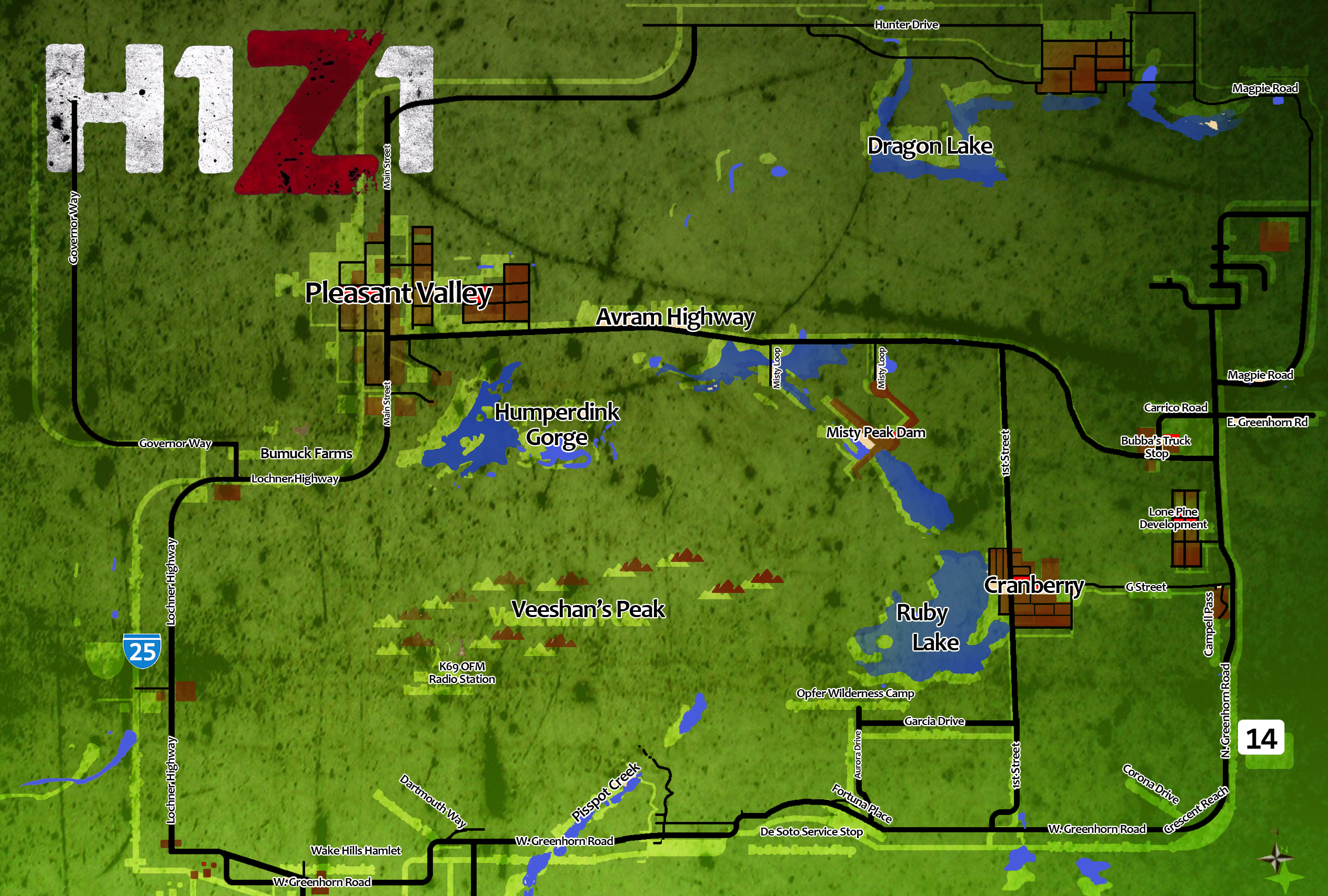 H1Z1 map - Off Topic - Star Citizen Base
