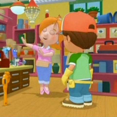 Is handy manny dating kelly