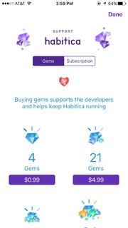 IOS Support Habitica