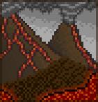 Background stoikalm volcanoes