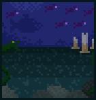 Background deep sea
