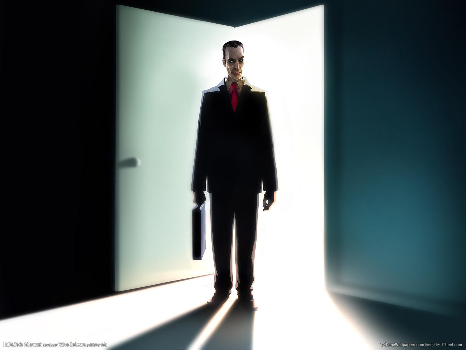 Image - G-man door desktop.jpg - Half-Life Wiki