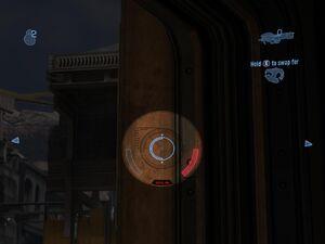 Spartan Laser Reticle Scoped