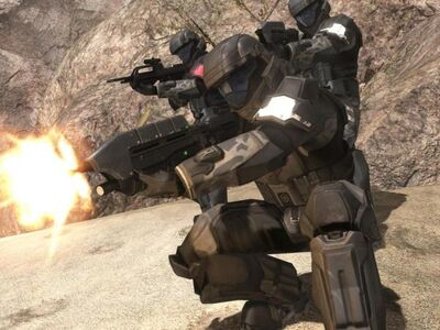 ODST Engaged in Combat