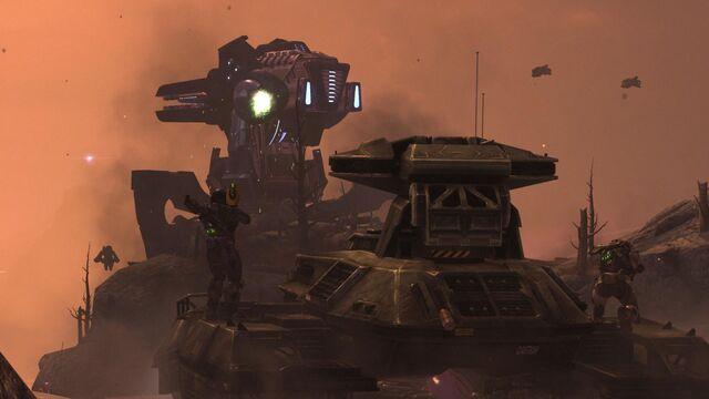 File:HaloReach - TankvsGun.jpg
