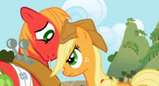 Applejack and Macintosh