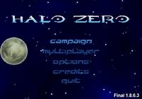 HaloZero MainMenu