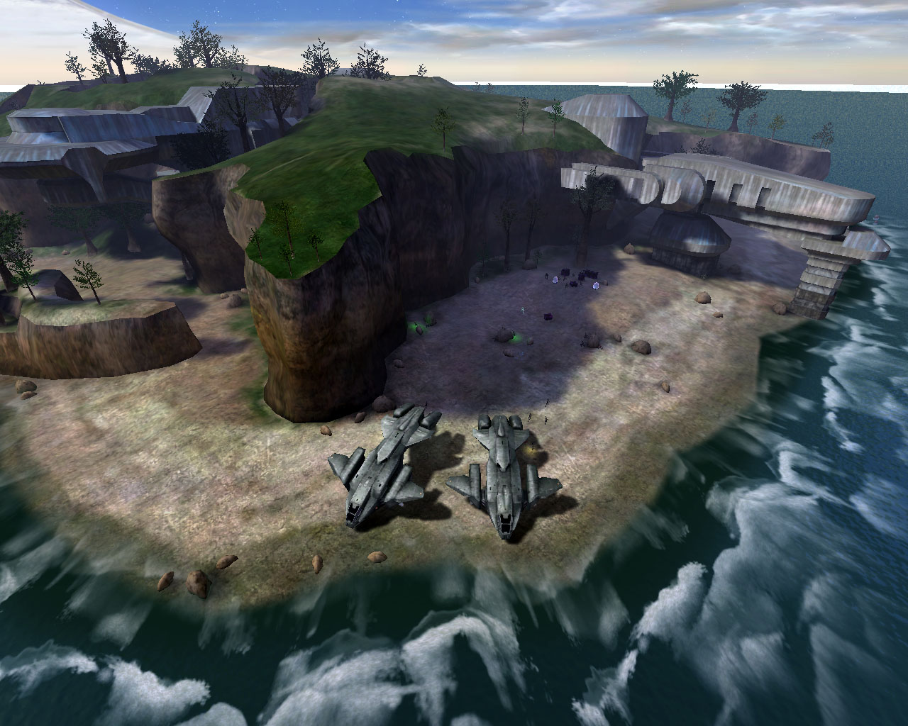 halo reach maps with The Silent Cartographer on The Calixis Sector furthermore Halo 4 Master Chief Elites Grunts Maps Revealed Via Amazing Art Screens likewise Halo 2  The Official Strategy Guide moreover 87382 Multiplayer Guide The New Vehicles further Halo Ccs Class Battlecruiser Covanent.