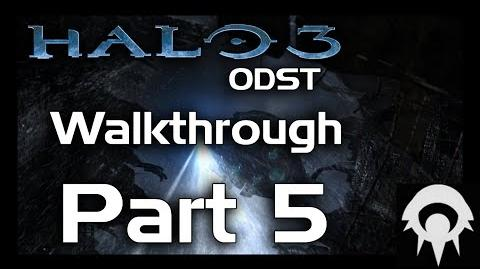 Halo 3 ODST Walkthrough - Part 5 - NMPD HQ - No Commentary