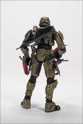 CP Halo 2 Anniversary Figure Rear